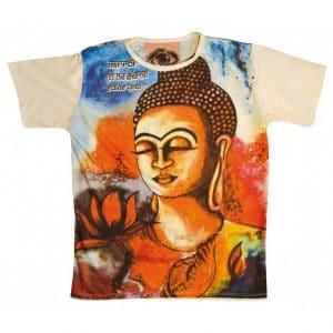 Buddha Shirt Herren Ansicht vorne