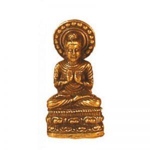 Buddha messing einladend 3cm