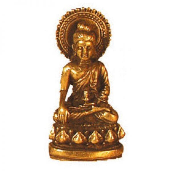 Buddha messing 3cm