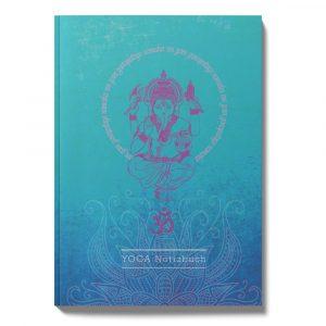 Ganesha Notizbuch blau
