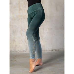 Spirit of Om Yoga Legging Smaragd