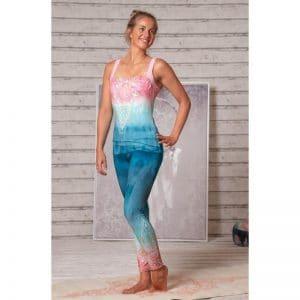 Spirit of Om Legging indigo/peach