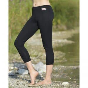 Legging schwarz lang