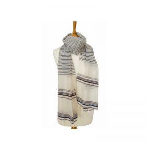 Lokkum Schal aus Baumwolle und Leinen