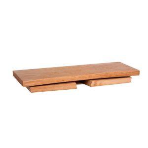 Meditationshocker klappbar aus Erlenholz