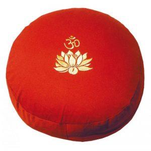 Meditationskissen Om Lotus rot