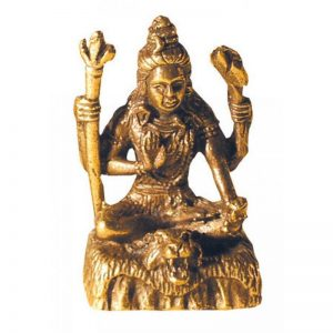 Shiva aus Messing 3cm