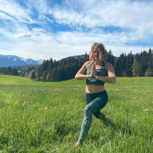 Yoga Bra 'Buddhi' in smaragd