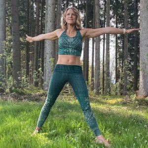 Yoga BH 'Buddhi' in smaragd