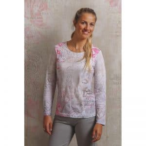 Spirit of Om Langarm Shirt Buddha