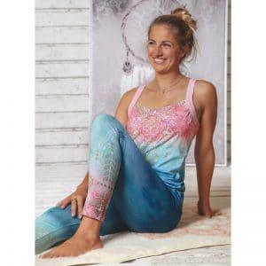 Spirit of OM Yogatop indigo mit Legging