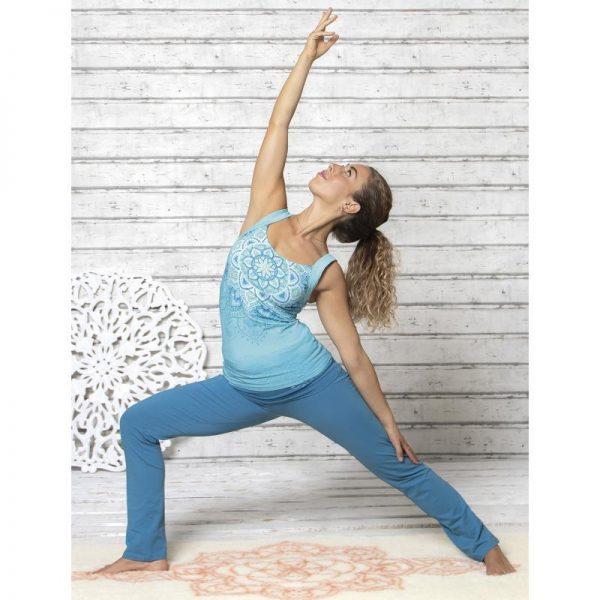Spirit of OM Yogatop tropical blue mit Hose