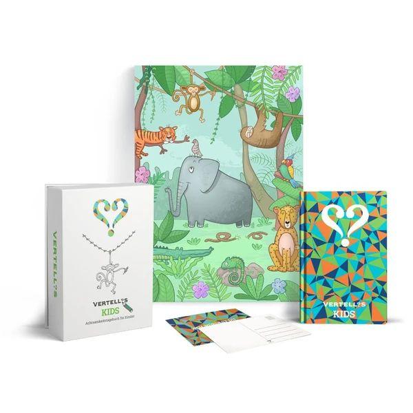 Vertellis Kids achtsames Tagebuch für Kinder