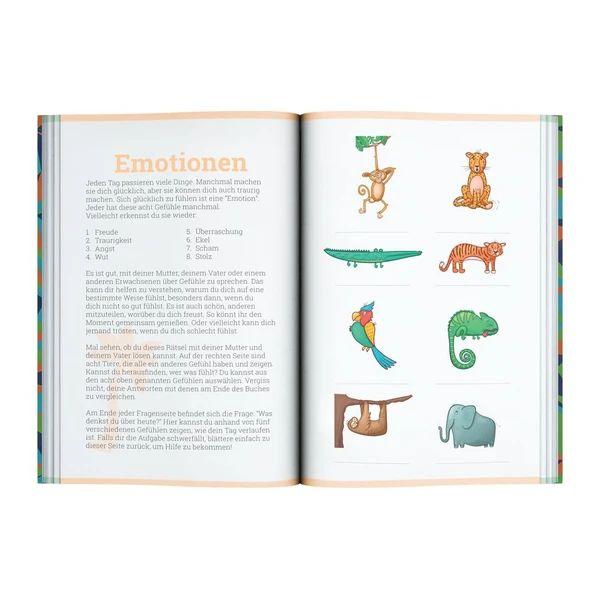 Vertellis Kids Tagebuch Innenteil Emotionen