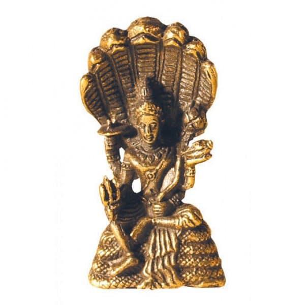 Vishnu aus Messing 3 cm