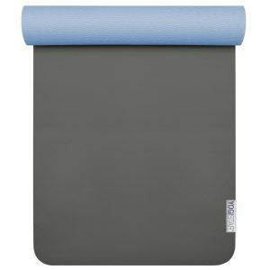 Yogamatte Pro anthrazit-blue