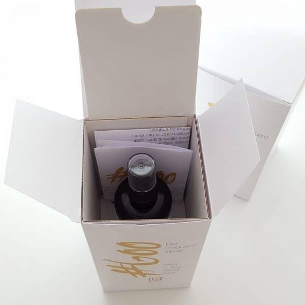 Auraspray #600 Flasche in der Verpackung