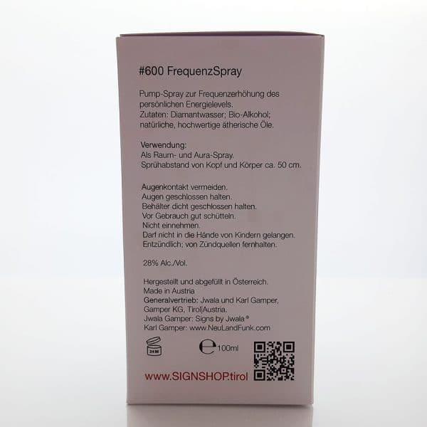 Auraspray #600 Verpackung Seite 2